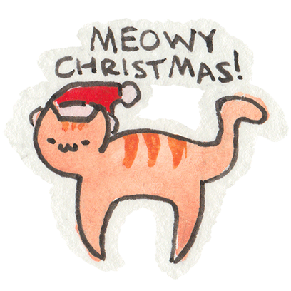 Christmas Cats Stickers messages sticker-11