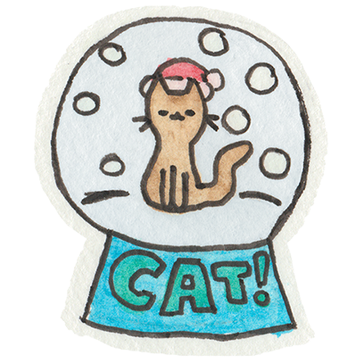 Christmas Cats Stickers messages sticker-4