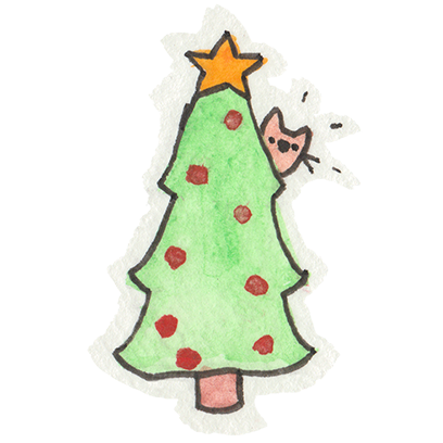 Christmas Cats Stickers messages sticker-9