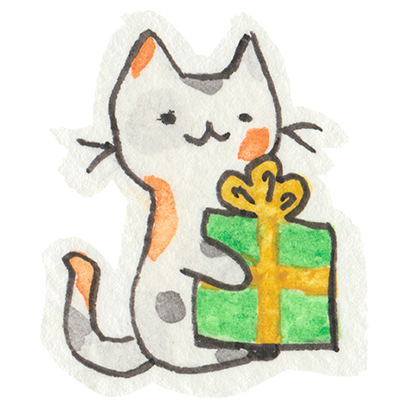 Christmas Cats Stickers messages sticker-7