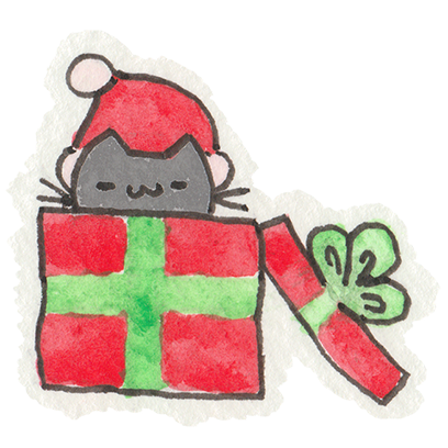 Christmas Cats Stickers messages sticker-5