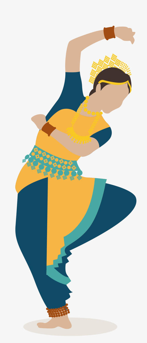 Indian style cartoon messages sticker-1