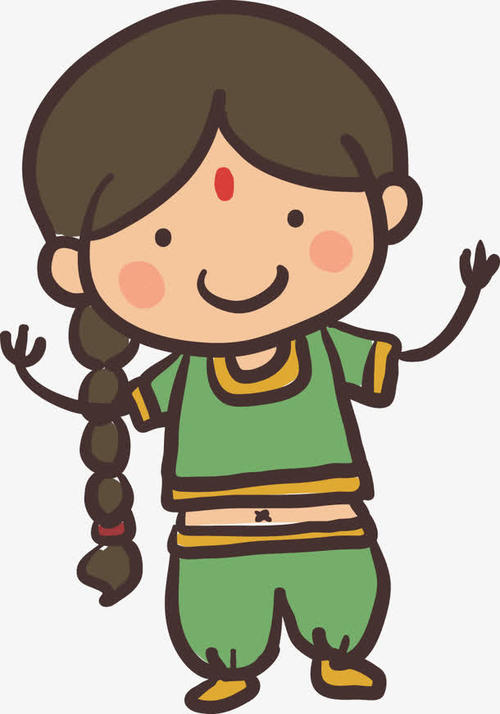 Indian style cartoon messages sticker-8