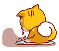 可愛的小柴犬 messages sticker-11