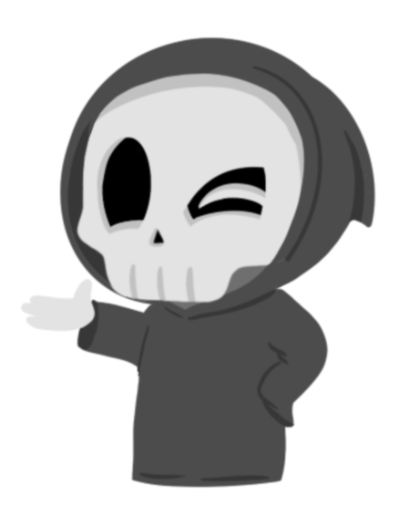 Grimmie the Reaper Stickers messages sticker-9
