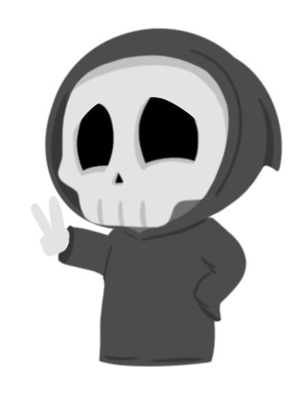 Grimmie the Reaper Stickers messages sticker-6
