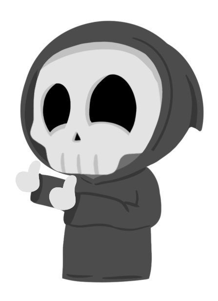 Grimmie the Reaper Stickers messages sticker-7