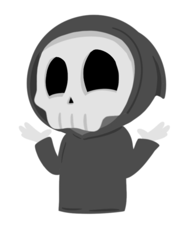 Grimmie the Reaper Stickers messages sticker-4