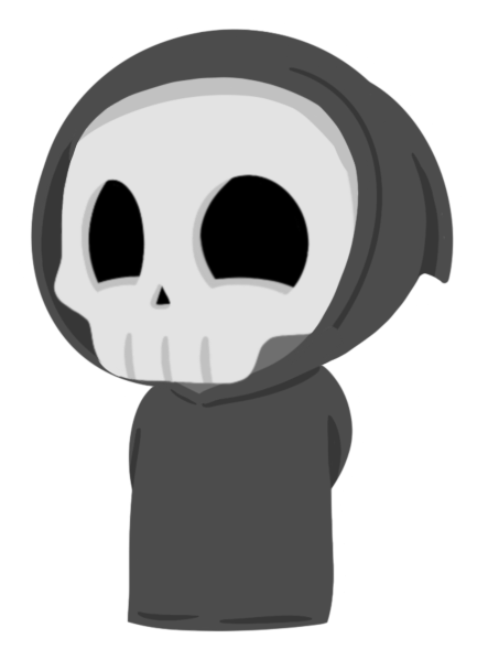 Grimmie the Reaper Stickers messages sticker-0
