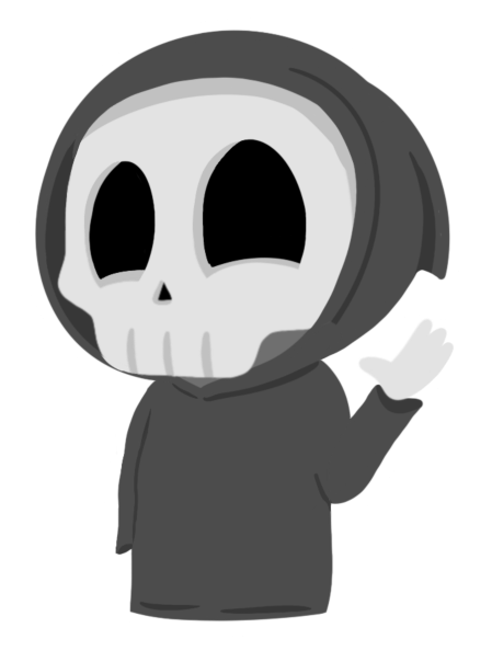 Grimmie the Reaper Stickers messages sticker-1