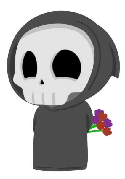 Grimmie the Reaper Stickers messages sticker-3