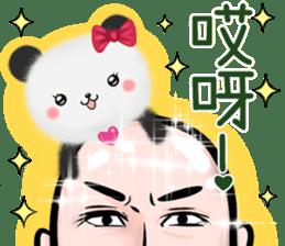 摩呼熊貓 messages sticker-0