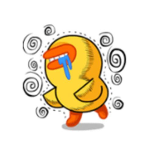 委屈的嘎嘎 messages sticker-4
