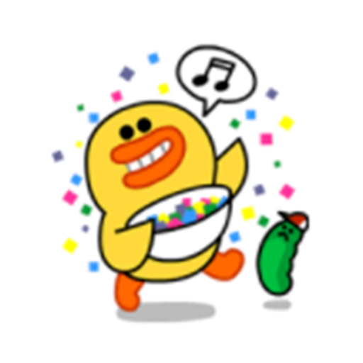 可愛的嘎嘎 messages sticker-9