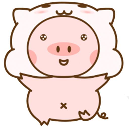 猪的爱情 messages sticker-5