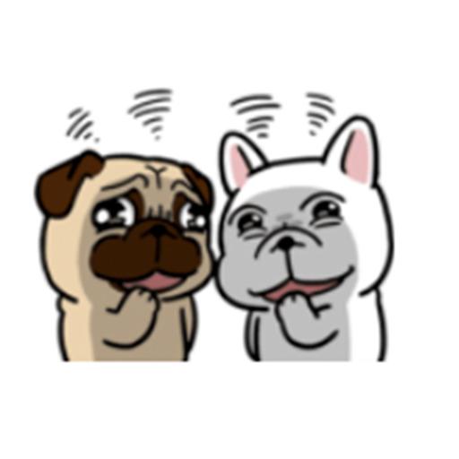 有趣的狗狗們 messages sticker-2