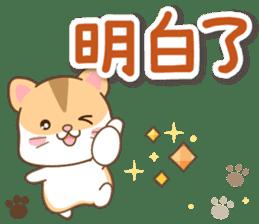 黃金鼠 messages sticker-1