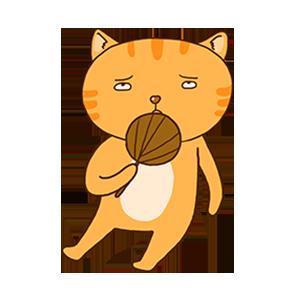 SummerCat-Orange messages sticker-10