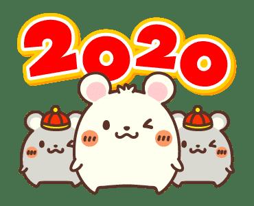 新年鼠標 messages sticker-9