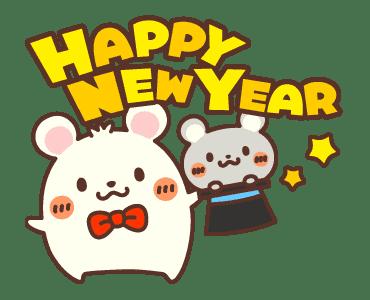 新年鼠標 messages sticker-2