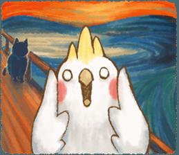 快樂的鸚鵡 messages sticker-6