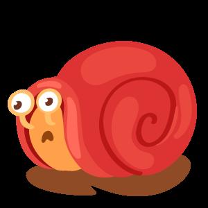 蜗牛快跑-表情包 messages sticker-4