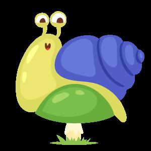蜗牛快跑-表情包 messages sticker-3