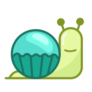 蜗牛快跑-表情包 messages sticker-1