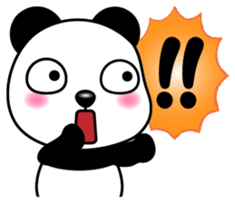 Q萌熊貓 messages sticker-11