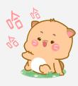 小喵阿大表情 messages sticker-6