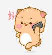小喵阿大表情 messages sticker-7