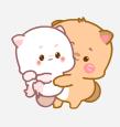 小喵阿大表情 messages sticker-9