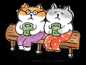 可愛的花貓 messages sticker-7