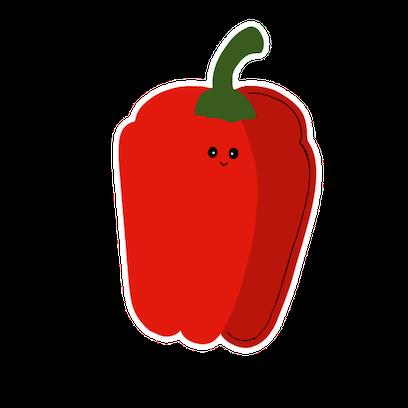 Happy Vegetables Stickers messages sticker-2