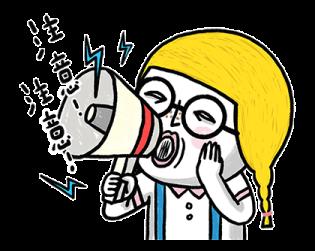 搞笑的金桃 messages sticker-6