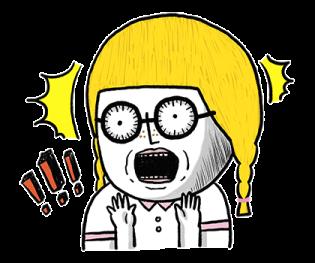 搞笑的金桃 messages sticker-9