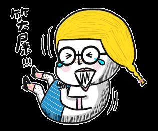 搞笑的金桃 messages sticker-3