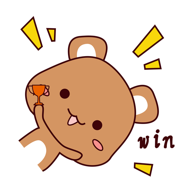 爱宠足迹1 - 小熊 messages sticker-8
