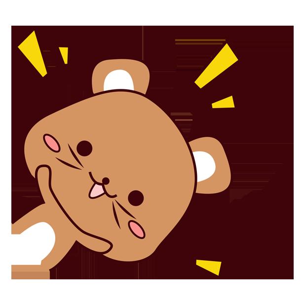 爱宠足迹1 - 小熊 messages sticker-11