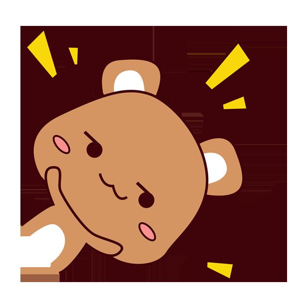 爱宠足迹1 - 小熊 messages sticker-10