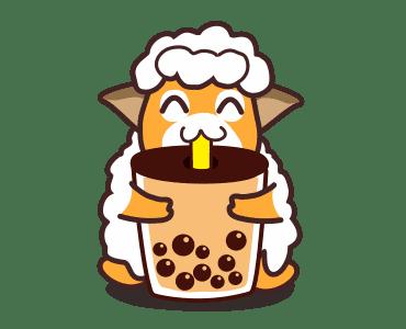 毛茸羊 messages sticker-7