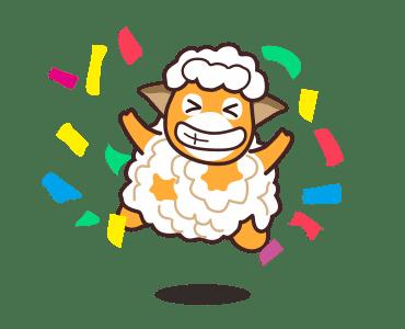 毛茸羊 messages sticker-0