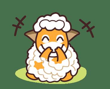 毛茸羊 messages sticker-5