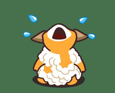 毛茸羊 messages sticker-3