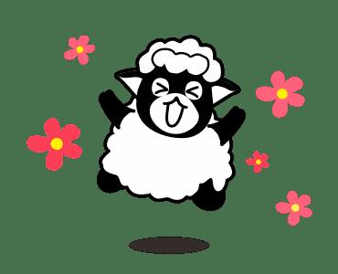 毛茸羊 messages sticker-8
