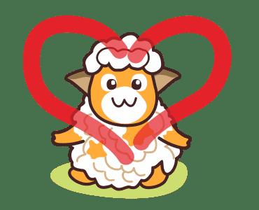 毛茸羊 messages sticker-4