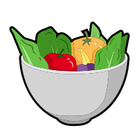 Food Expression Cartoon messages sticker-11