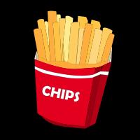Food Expression Cartoon messages sticker-3