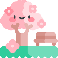 Pink cherry blossoms messages sticker-5
