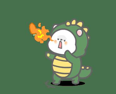 彼特龙兔 messages sticker-11